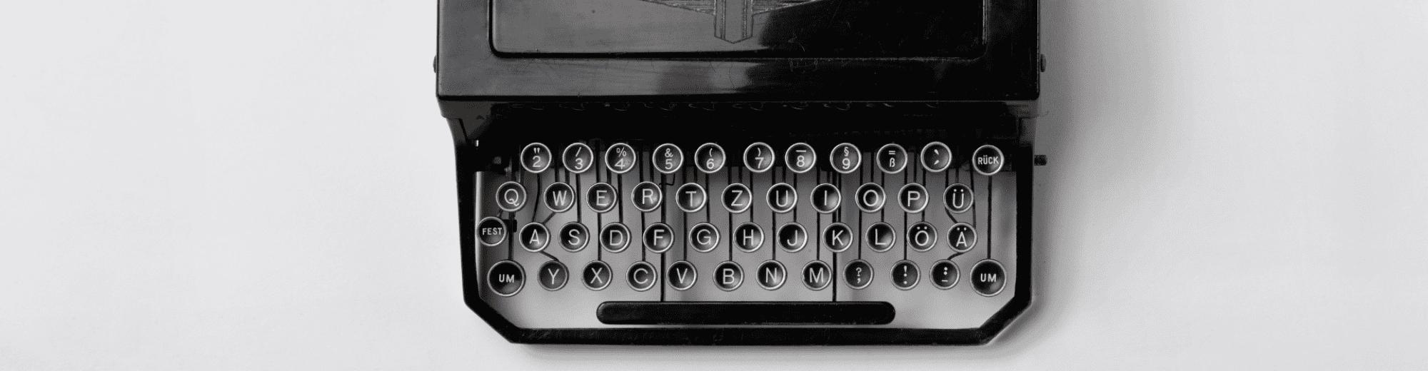 Machines à écrire, à coudre, à écouter…