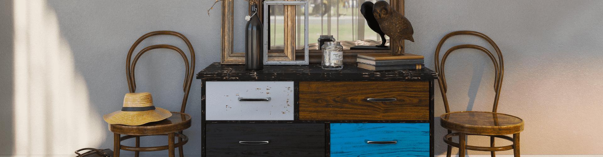 Buffets, commodes, enfilades et meubles TV